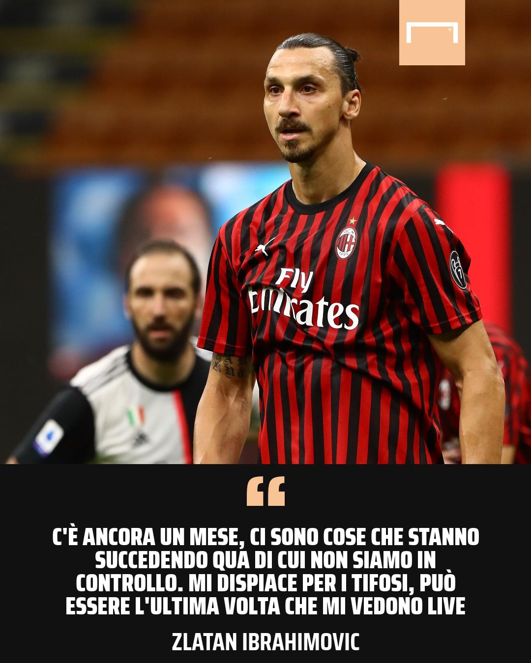 Zlatan Ibrahimovic Milan Juventus Serie A