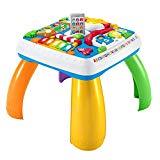 Fisher-Price DRH33 Tavolino Attività della Città con 3 Livelli di Gioco che Crescono con il Bambino, con Luci, Suoni e Frasi, Giocattolo per Imparare a Parlare, eta consigliata 6 + mesi