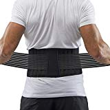 Supportiback Cintura Lombare terapeutica Tutore per la Zona Lombare e Cintura di Sostegno - Pannelli in Rete Traspiranti, Strap Antiscivolo con Regolazione Doppia - Leggera e discreta