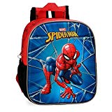 Marvel Spiderman Black Zainetto per bambini 25 centimeters 5.25 Multicolore (Multicolor)