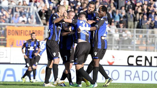 Serie B - Impresa del Latina, espugnato 2-1 Palermo