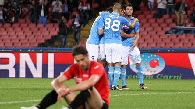 Successo del Napoli, 2-0 al Novara