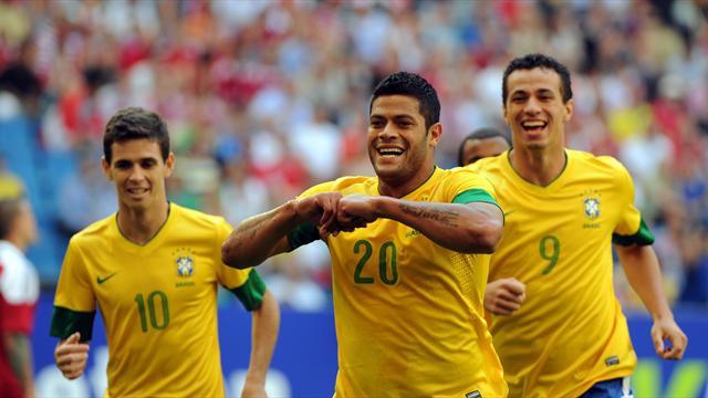 Troppo Brasile per la Danimarca