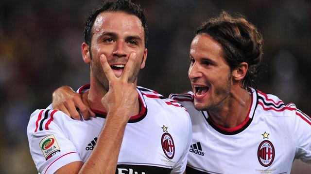 Tripletta del Pazzo, Milan vince 3-1 a Bologna