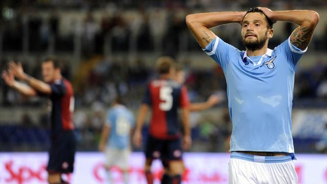Serie A - Borriello gela l'Olimpico, vince il Genoa 1-0