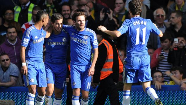Chelsea, con il Norwich � un allenamento: 4-1
