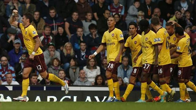 Premier League - Arsenal, cuore e rimonta: West Ham ko 3-1