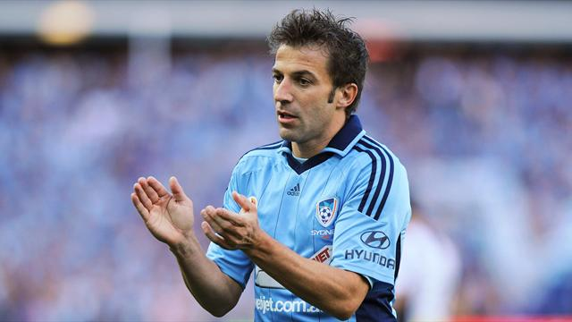A-League - Del Piero soffre, Sydney beffato all'88'