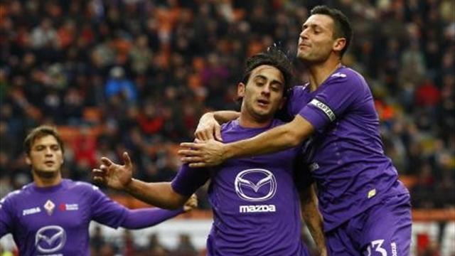 Serie A - Grande Fiorentina, anche lei sbanca San Siro