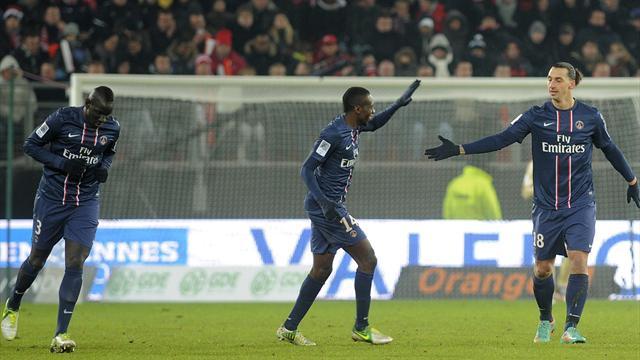 Ligue 1 - Ibra lancia un messaggio al Lione, 4-0 per il Psg