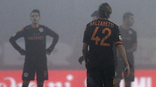 Serie A - Nebbia e Chievo: la Roma cade a Verona