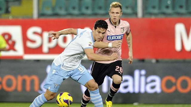 Serie A - Lazio bloccata a Palermo: finisce 2-2 al Barbera