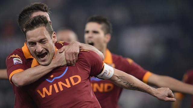 Serie A - La Juve � stanca e Totti la punisce