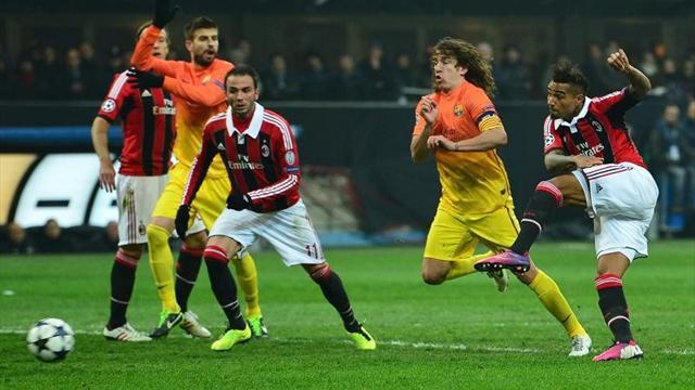 Champions League - Il Milan fa l'impresa: 2-0 al Barcellona
