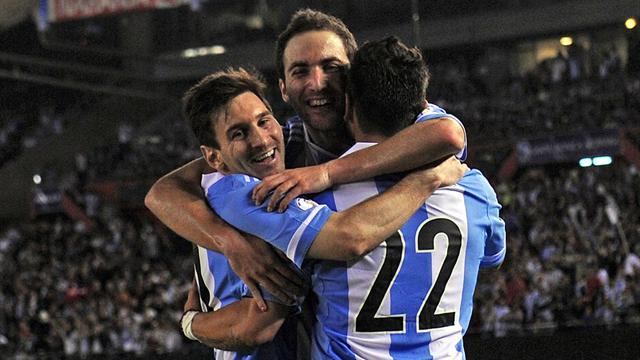 Mondiali 2014 - Higuain-Messi show; la Colombia fa pokerissimo