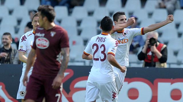 Serie A - Osvaldo-Lamela: la Roma vede l'Europa