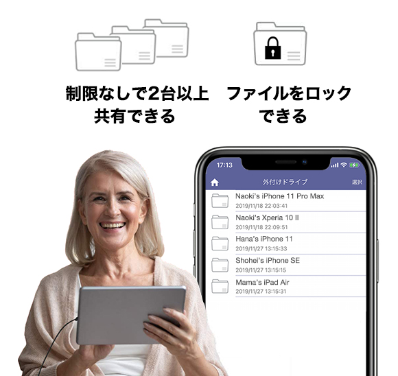 PhotoCube Pro Built-in Memory Elise Japan