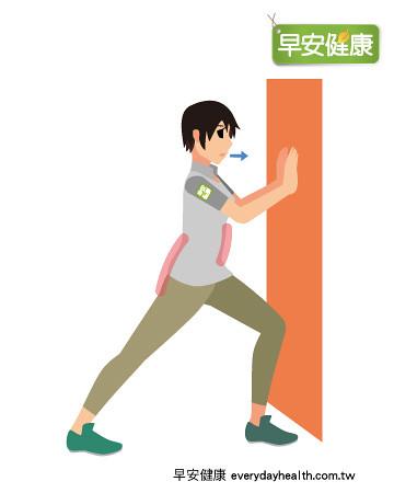 伸展膝窩改善便秘腰痛