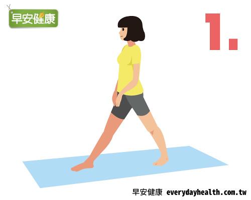 瑜珈美腿縮腹正骨盆