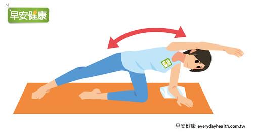 伸展肋骨幫助瘦身