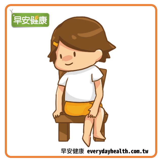 翹腳轉身伸展側腰臀部