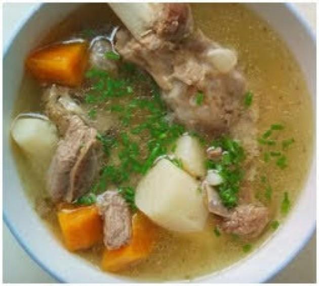 湯水篇-鮮淮山羊肉湯【補氣補血、補腎明目】