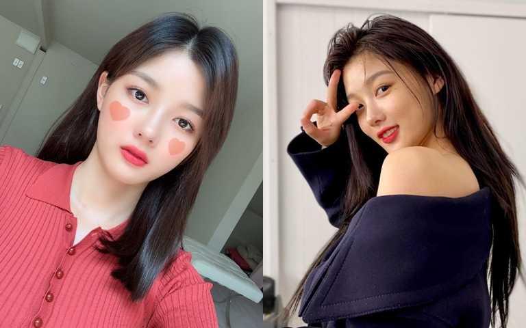 LANEIGE的晚安面膜在韓國可說是人手一瓶,就連許多韓劇女星像是金裕貞也是它的愛用者。(圖/翻攝金裕貞IG)