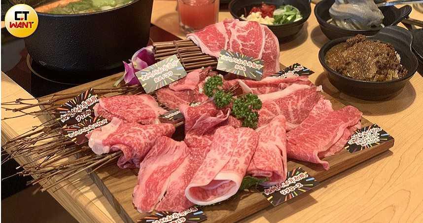 和牛吃到飽新開店!首家主打日本A5和牛鍋物 一頭牛22稀有部位無限吃