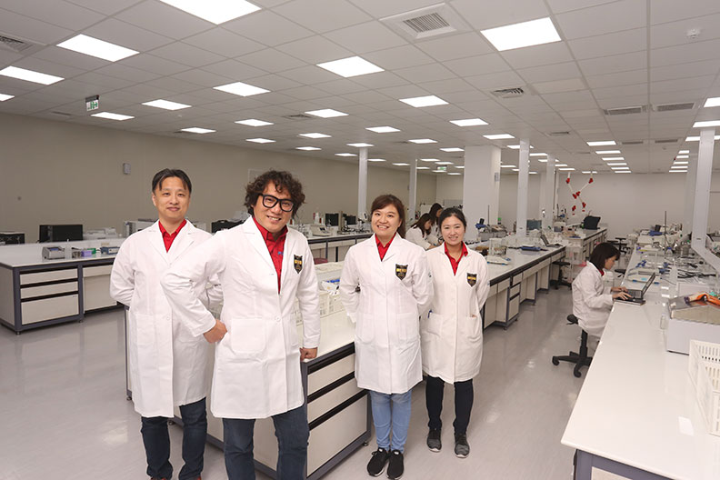 大江生醫以「綠色智造全面啟動」入圍CSR環境友善組。蘇義傑攝