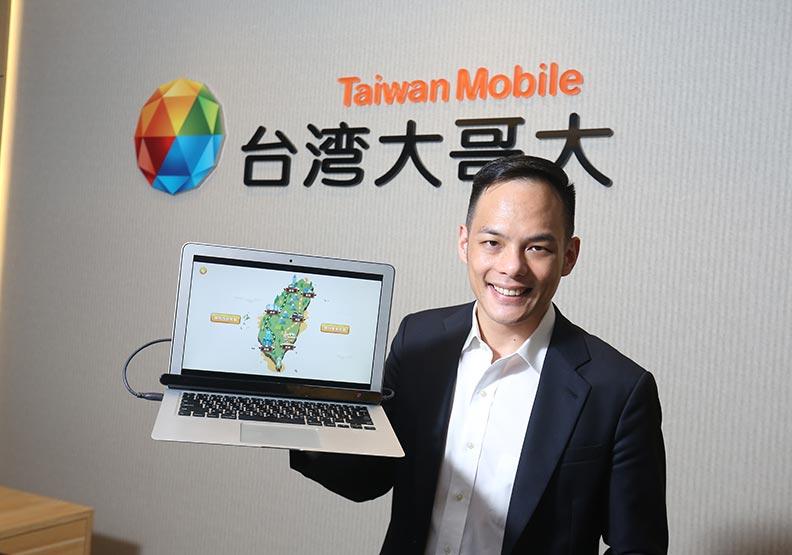 台灣大哥大以「台灣大幸福職場 時刻與你在一起」入圍CSR幸福企業組。蘇義傑攝