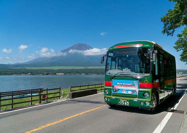 用無限搭乘交通券遊「富士五湖」好划算!教你怎麼搭路線巴士玩富士山周邊