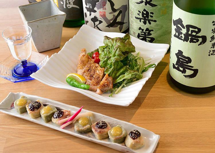 家常菜和日本酒非常搭喔!