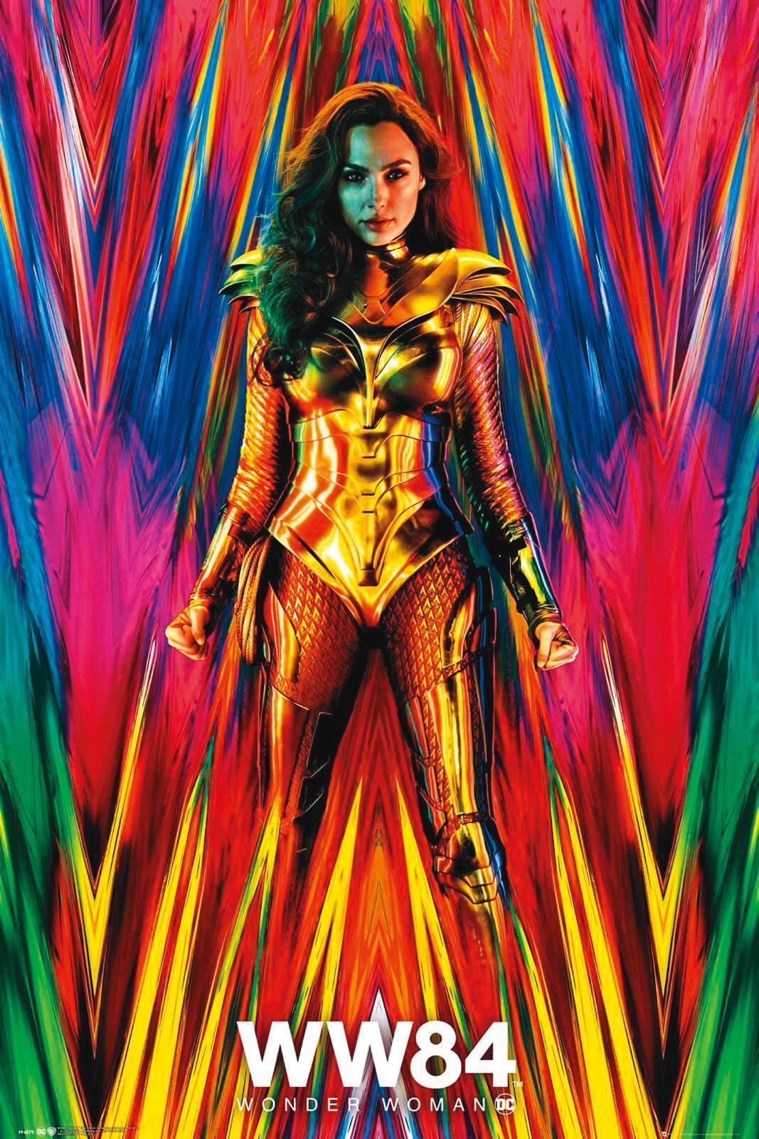 《神力女超人1984》电影海报。