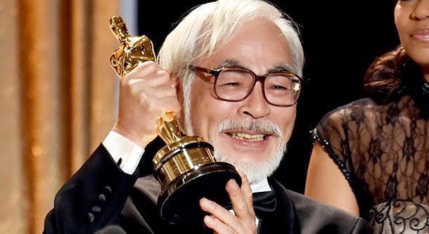 動畫界大師宮崎駿曾獲奧斯卡終身成就獎肯定。(翻攝自movie Like網站)