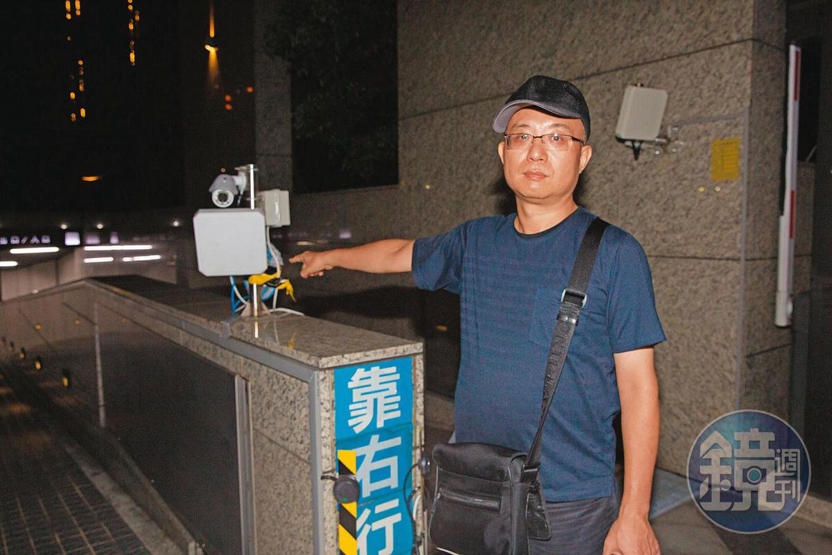 住戶指控劉承武採購車道辨識系統獨斷獨行,比市價高出約1倍。