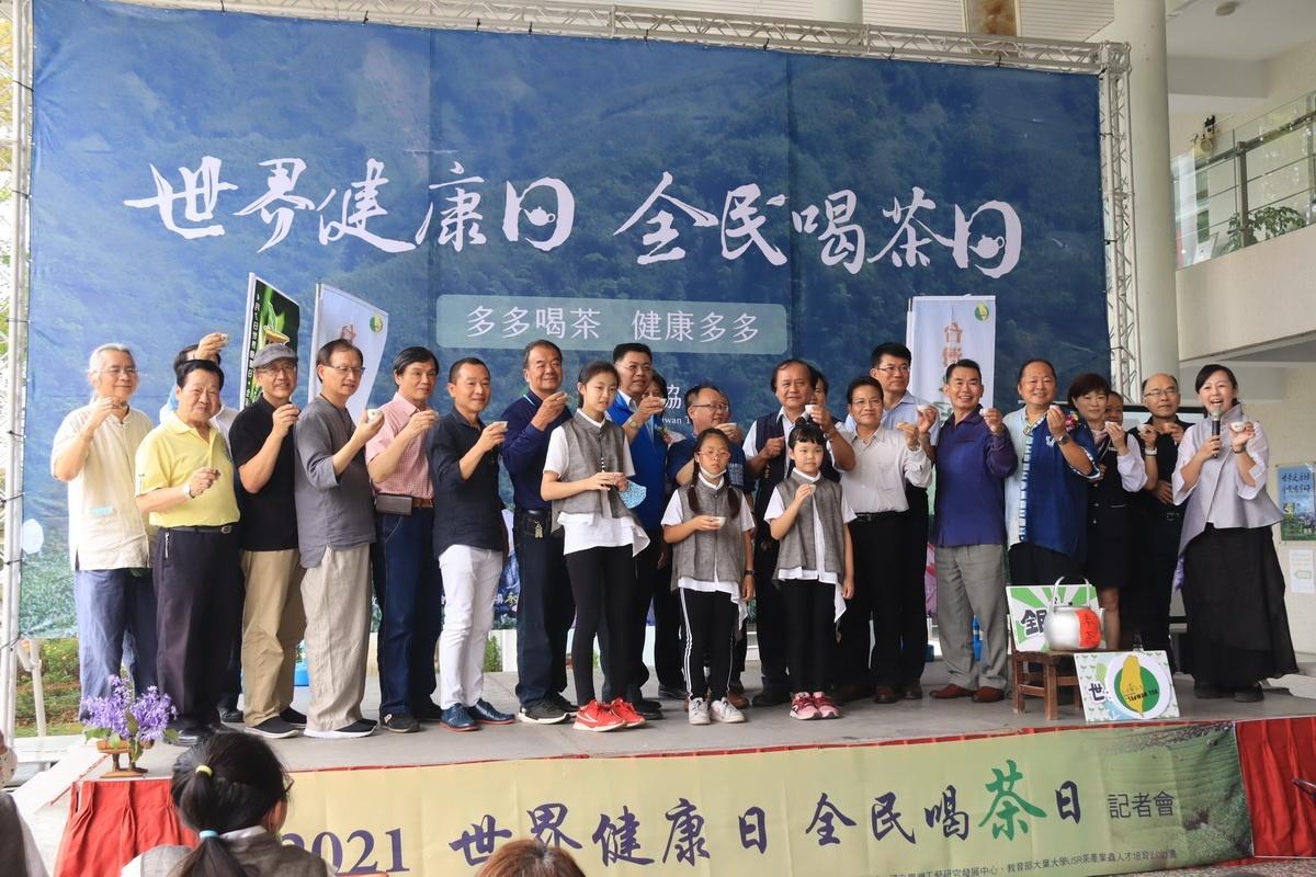 工藝中心與台灣茶協結合工藝師茶器 共推全民喝茶日