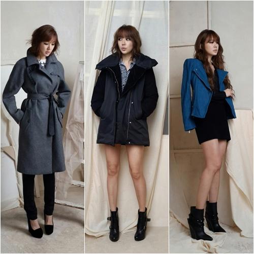 By Joy Kim Korean Actress Yoon Eun Hye S Behind Photos From Her Fashion Pictorial Shoot Was