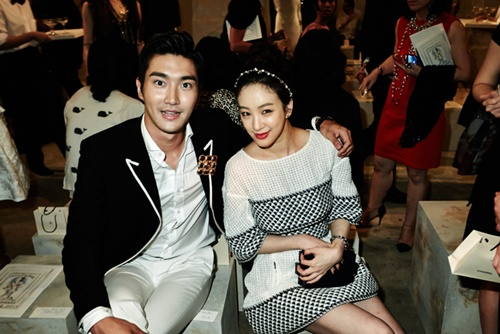Image Jung Ryeo Won Choi Siwon Attend Chanel Cruise 2014 Fashion Show