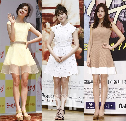 Celebrities on competition for dresses- how to wear like ...