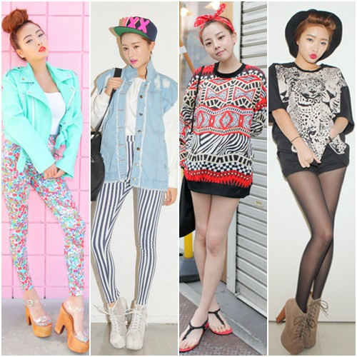 Funky dressing style for girls