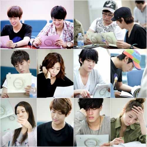 Sulli  Minho  Lee Hyun Woo  Kim Ji Won and More Hold First Script    Kim Ji Won And Lee Hyun Woo