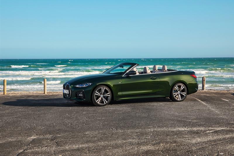 BMW近日發表了4 Series Convertible。