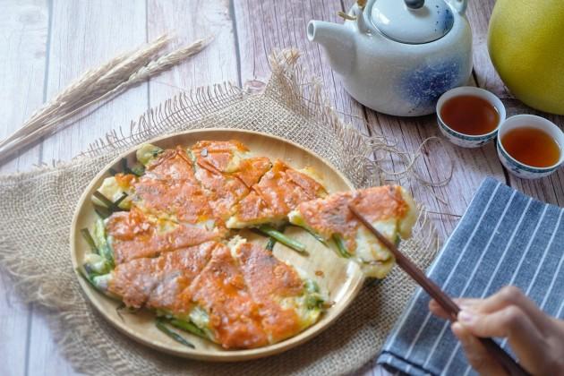 韓式芝士海鮮煎餅