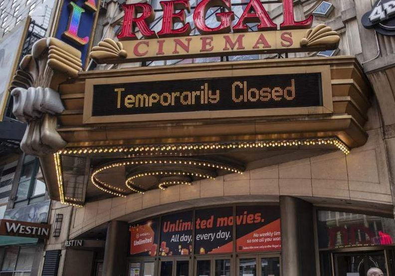 美國目前幾乎各大電影院都處於關閉狀態