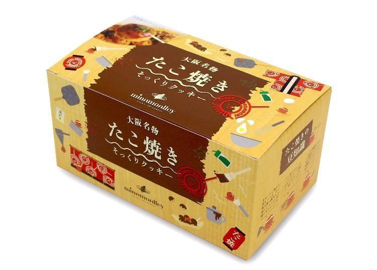 章魚燒餅乾26塊入 1,080日圓(含稅)