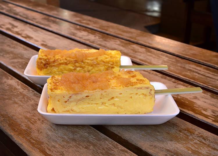 「玉子燒」有正常甜、少甜兩種選擇。
