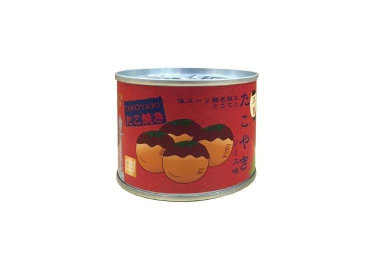 章魚燒罐頭 550日圓(含稅)