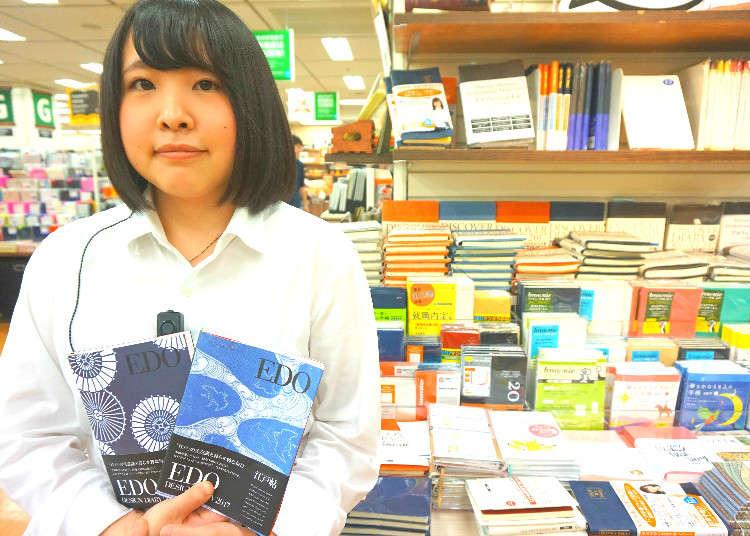 ▲東急HANDS新宿店8樓 文具用品負責人:內田優美女士