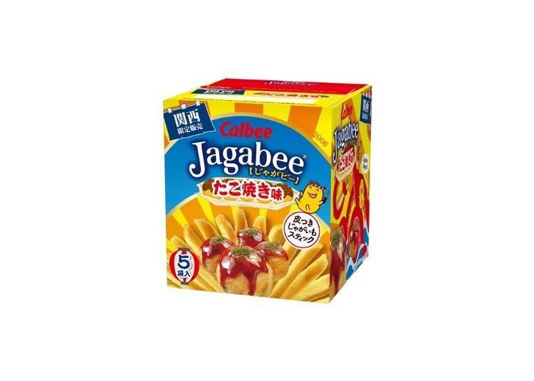 Jagabee薯條先生章魚燒口味 80g 378日圓(含稅)