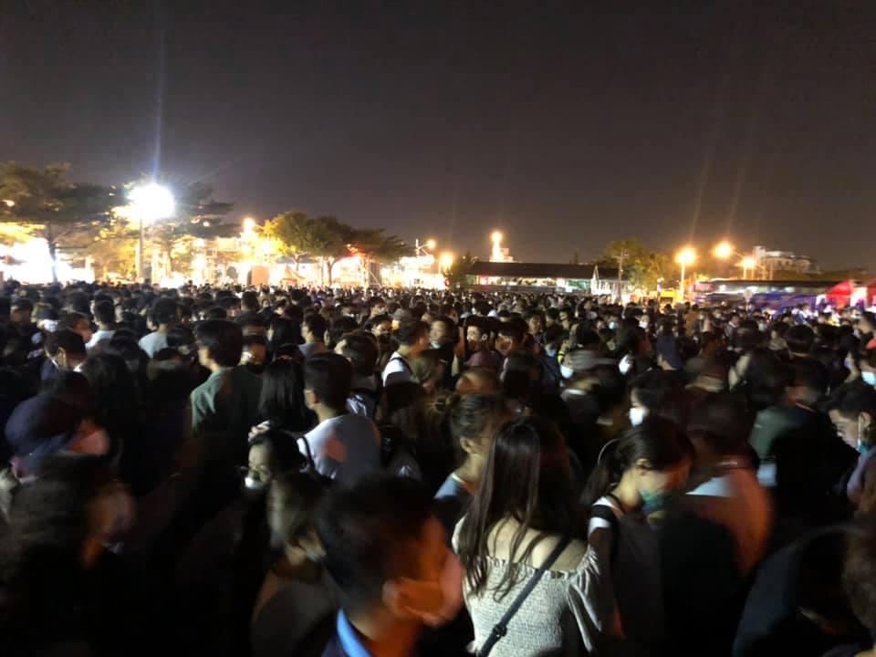 民眾認為此次疏運人流遠不及先前屏東燈節。(翻攝自臉書)